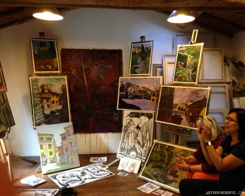 A Studio Full of Art 2