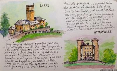 Castelli di Sarre and Aymavilles, Valle d'Aosta
