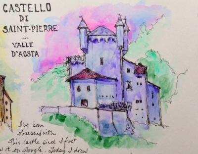 Castello di Saint-Pierre, Valle d'Aosta