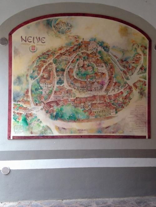 Neive Town Mural - by Gabriella Piccatto