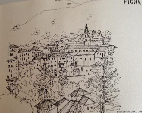 Pigna Sketch