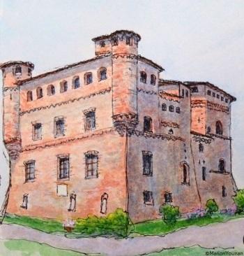 Castello di Grinzane Cavour, Piemonte