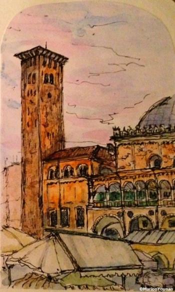 Piazza delle Frutta, Padova