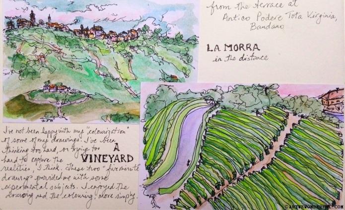 Towards La Morra, Piemonte