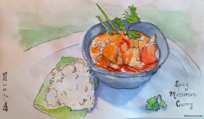 February 1 - Massaman Curry