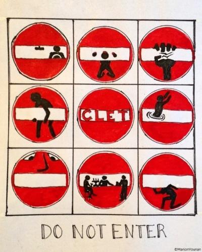 February 13 - Do Not Enter