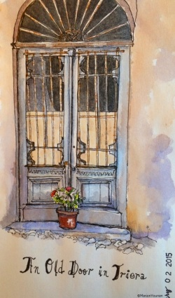 February 2 - An Old Door in Triora