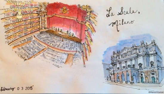February 3 - La Scala Opera House