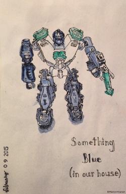 February 9 - Blue-Bot