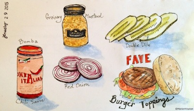 January 29 - Fave Burger Toppings