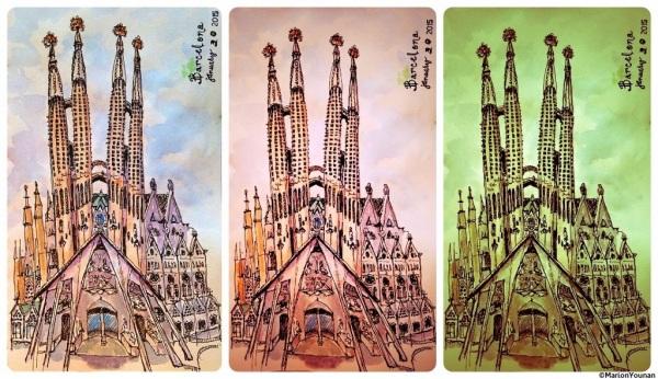 Barcelona Sketch
