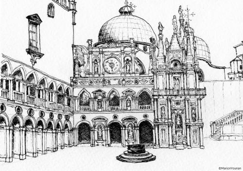 Doges Palace Courtyard