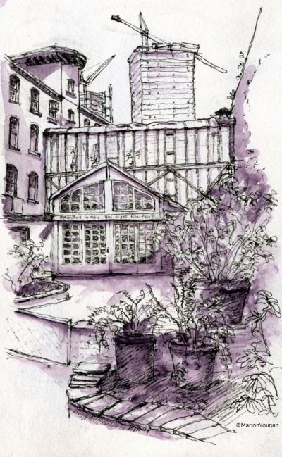 401 Richmond Courtyard
