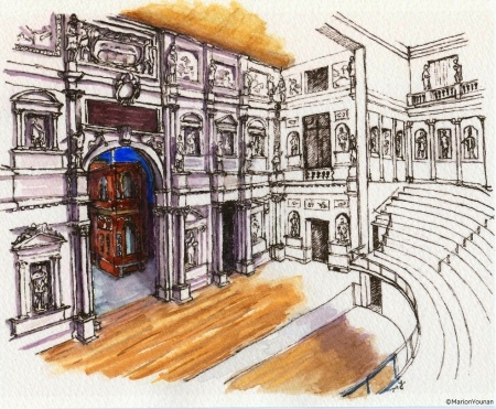 Teatro Olimpico stage