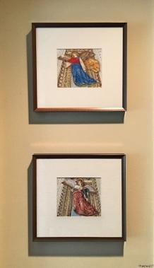 Da Forli Angels (framed)