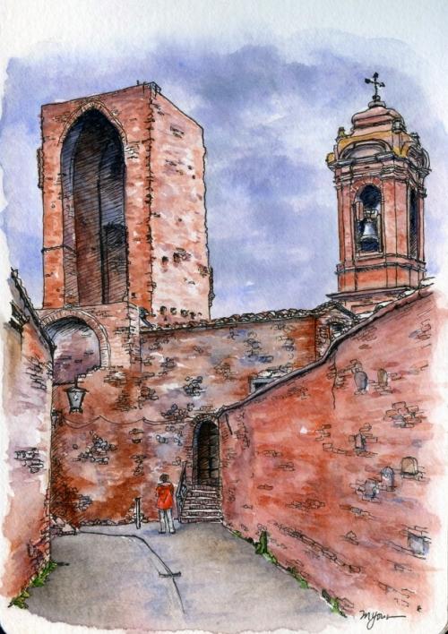 Priscilla in Citta della Pieve, Umbria