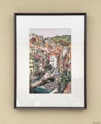 Riomaggiore (framed) - sold