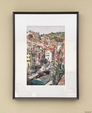 Riomaggiore (framed)