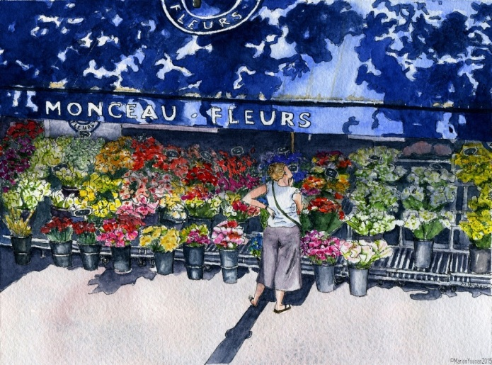 The Parisian Affliction of Floral Indecision