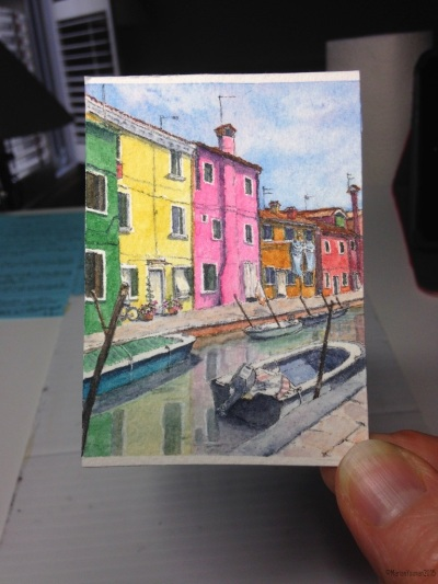 Burano 1 Artist Trading Card