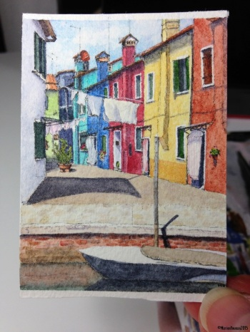 Burano 3 art card