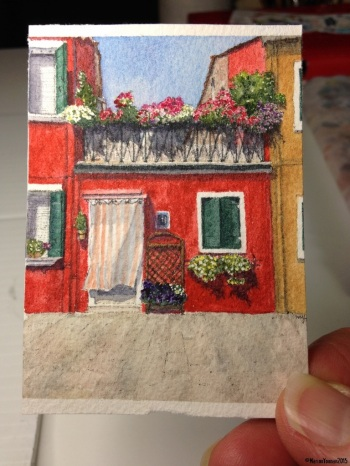 Burano 4 art card
