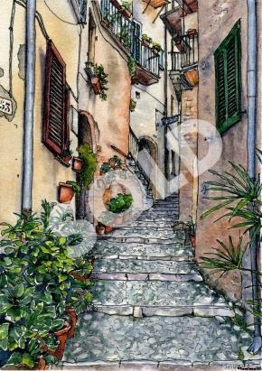 Up a Casperia Street (sold)