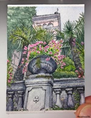 Villa Garden in Varenna