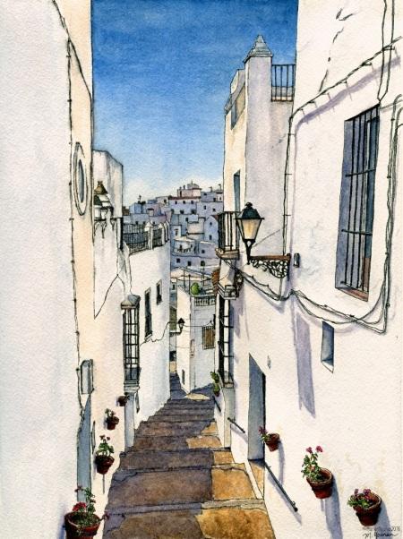 A Street in Cadiz