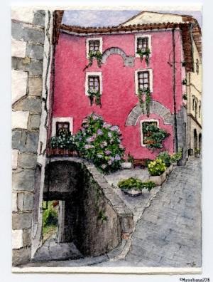 15 Pink Barga House