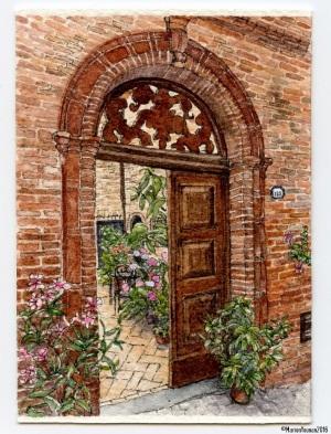 16 - Behind a Sarnano Door