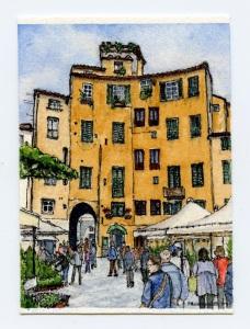 1 Anfiteatro in Lucca
