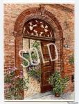 Behind a Sarnano Door Sold