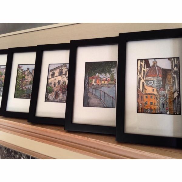 Framed Mini Vacations Originals