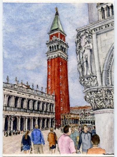 #22 - Eve Views Campanile di San Marco