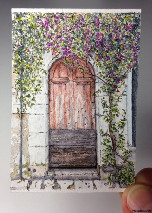 #24 - Rustic Door in Saint-Paul de Vence (studio)