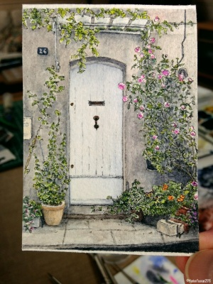#25 - Door in Saint-Remy de Provence (studio)