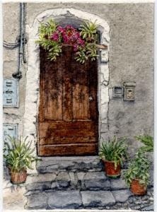#27 - Door in Isolabona, Italy