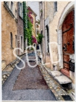A Street in Saint-Paul de Vence SOLD
