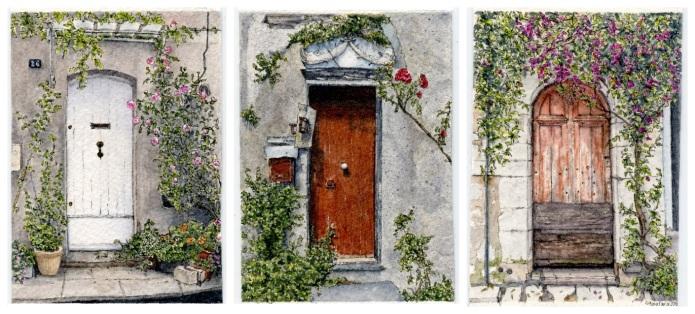 Rustic Doors Trio