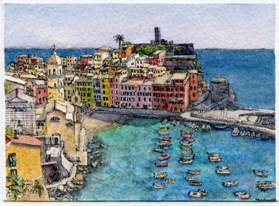 #36 - Vernazza, Cinque Terre