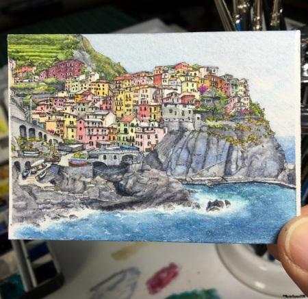 37 - Manarola, Cinque Terre studio aww