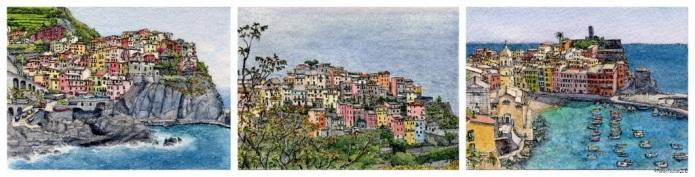 The Cinque Terre 3 - Manarola, Corniglia, Vernazza