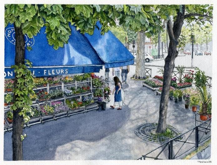 Parisian Floral Employment (2016)