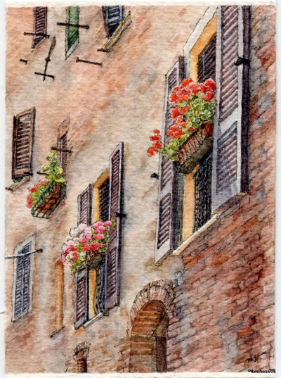 #40 - Tuscan Windows