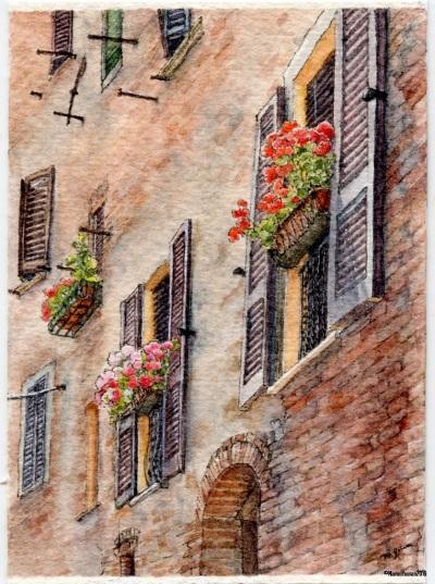 #40 - Tuscan Windows