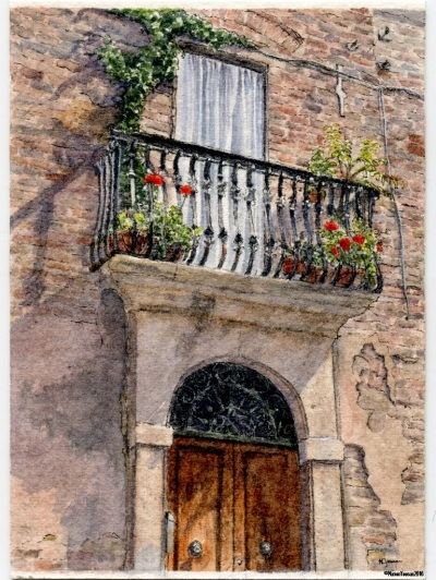 #42 - Tuscan Doorway