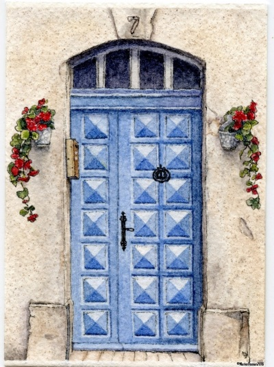 #47 - Blue Door, Saint-Rémy de Provence