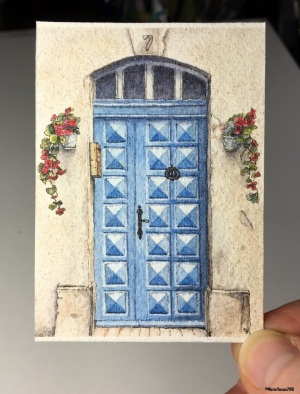 47 Blue Door, Saint-Remy de Provence studio