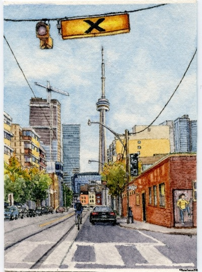 #48 - The View Down McCaul Street, Toronto
